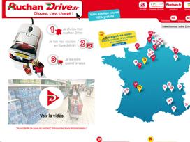 Auchan drive reduction premiere commande